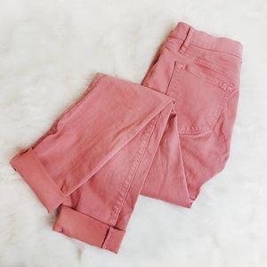 LOFT Ann Taylor Women's Salmon Modern Skinny Jeans